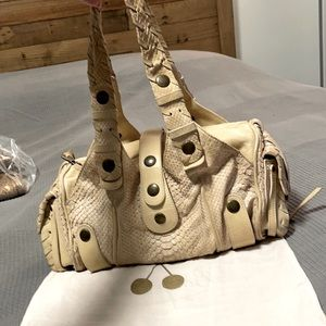 Chloe python skin authentic medium size bag